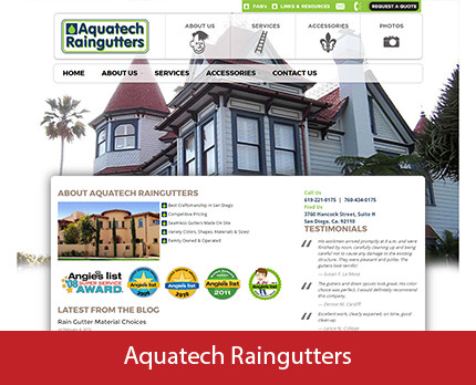 Aquatech Raingutters