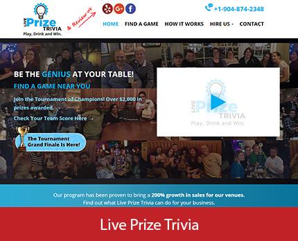Live Prize Trivia